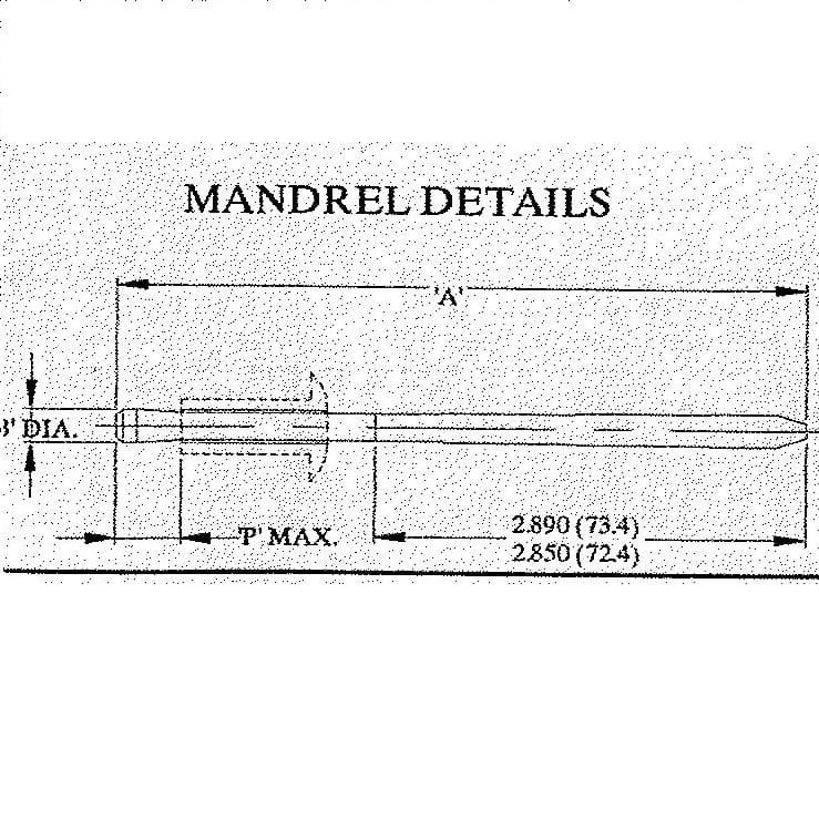 Chobert Rivet Gun - Riveter Mandrels