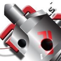 Cajero PCD Countersink Cutter  12 mm Body