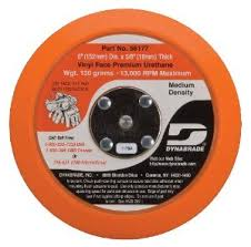 Dynabrade Palm Sander Backing Pads for Non Vacuum sanding