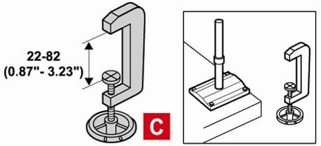 CP Desoutter Table Stand Clamp (408973)