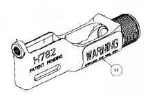 Cherry Rivet Gun part 783-051 Frame