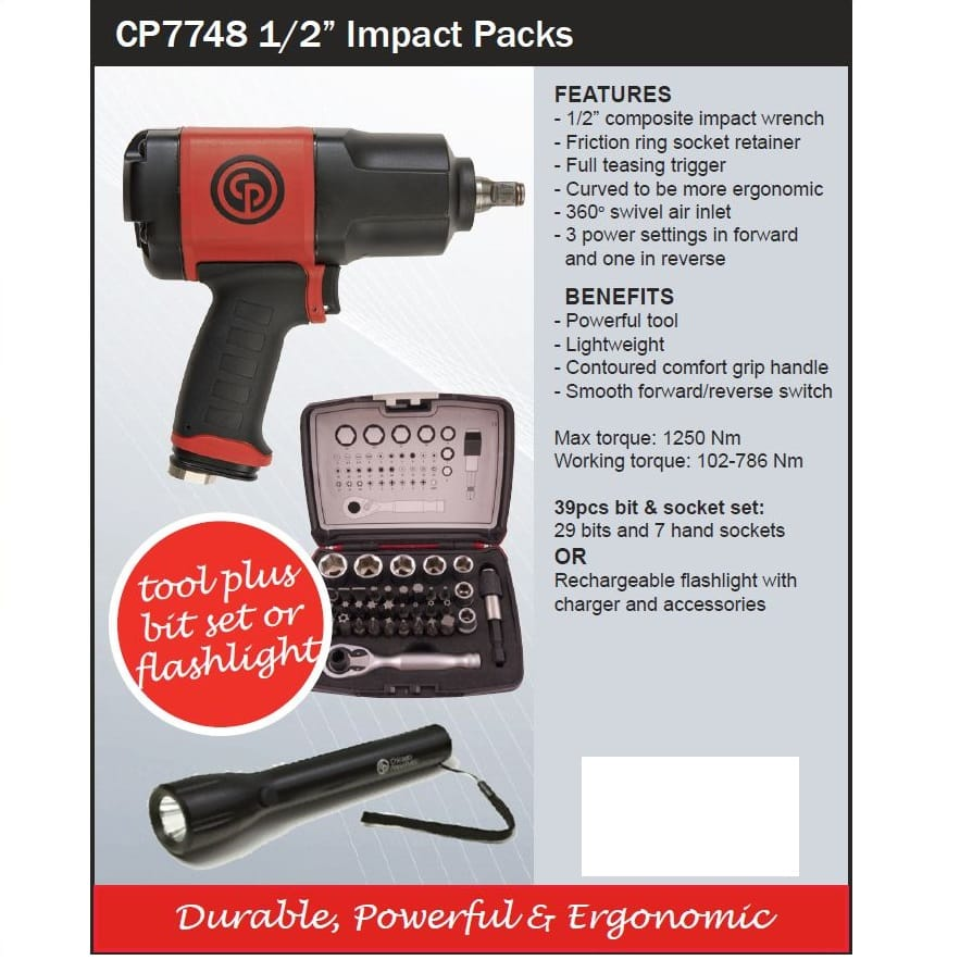 CP Chicago Pneumatic Special Offer & Promotions