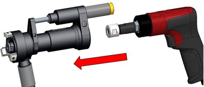 Desoutter drill DRxxx HDU 2