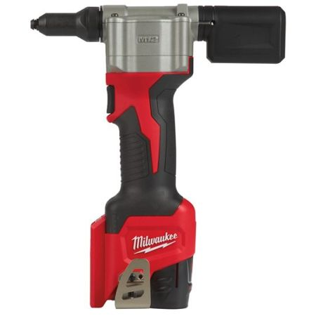 Milwaukee M12 Cordless Rivet Gun M12 BPRT-201X and M12 BPRT-0