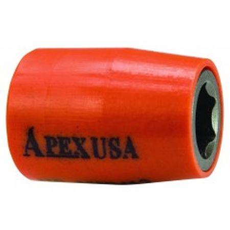 "Apex 1/4"" SQ u-Guard Sockets  Imperial  Magnetic"